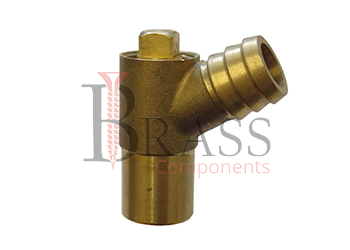 brass drain and cock valve