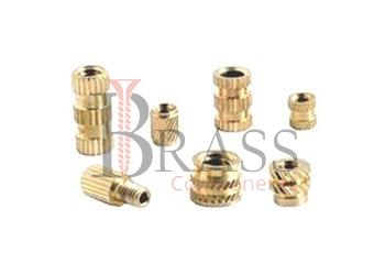 brass knurling inserts