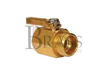 brass shut off connector