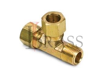 brass tees