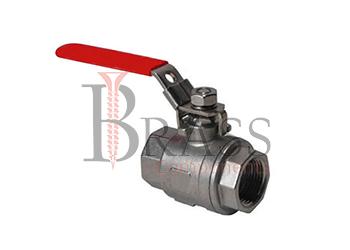 one piece ball valve