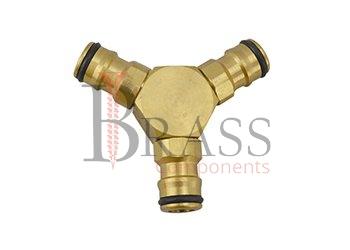 3 way hose connector