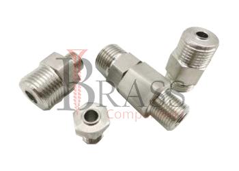 stainless steel sensor connectors